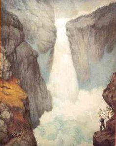 Theodor Kittelsen, Rjukanfosen (1908)