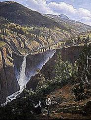 J.C.Dahl, Rjukanfoss (1830)